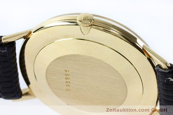 Used luxury watch Jaeger Le Coultre * 18 ct gold manual winding Kal. 800/C VINTAGE  | 152149 08