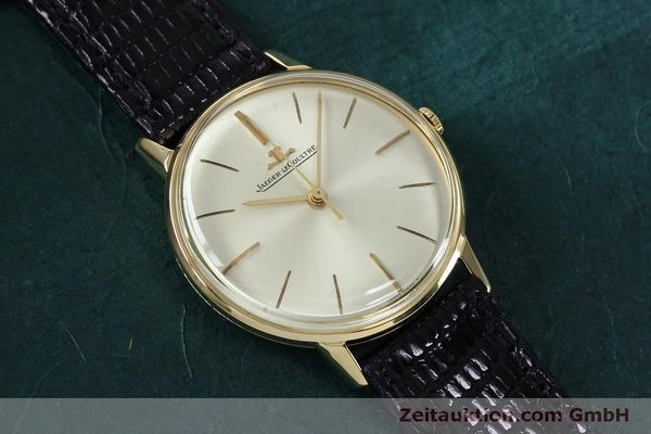 Used luxury watch Jaeger Le Coultre * 18 ct gold manual winding Kal. 800/C VINTAGE  | 152149 13