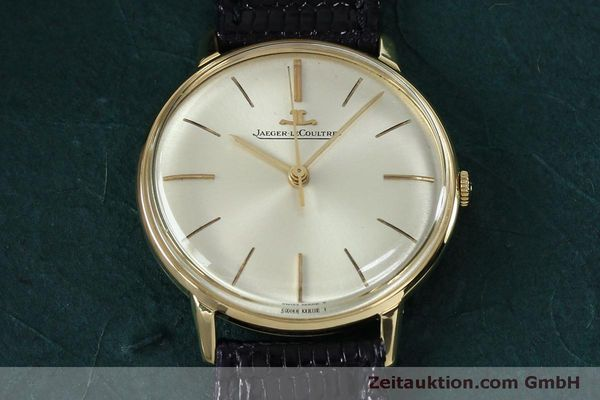 Used luxury watch Jaeger Le Coultre * 18 ct gold manual winding Kal. 800/C VINTAGE  | 152149 14