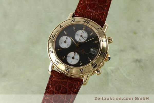 Used luxury watch Baume & Mercier Baumatic chronograph 18 ct gold automatic Kal. BM13283 ETA 2892-2 Ref. 86104  | 152152 04