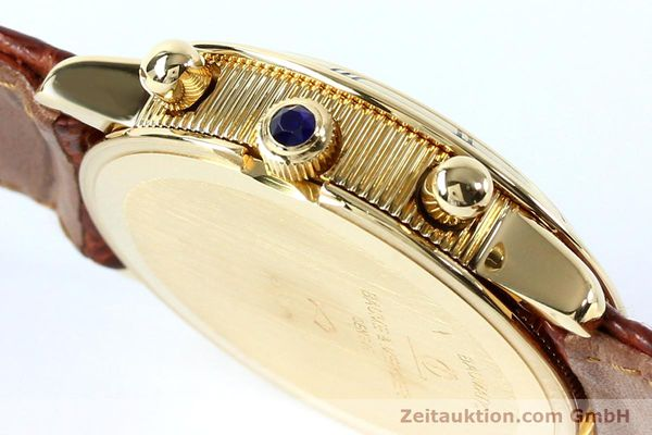 Used luxury watch Baume & Mercier Baumatic chronograph 18 ct gold automatic Kal. BM13283 ETA 2892-2 Ref. 86104  | 152152 08