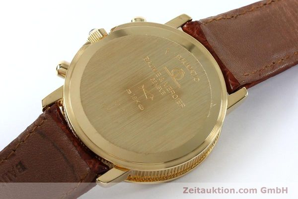 Used luxury watch Baume & Mercier Baumatic chronograph 18 ct gold automatic Kal. BM13283 ETA 2892-2 Ref. 86104  | 152152 10