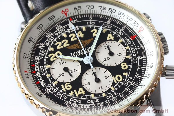 Used luxury watch Breitling Navitimer chronograph steel / gold manual winding Kal. LWO 1873 Ref. B12019  | 152154 02