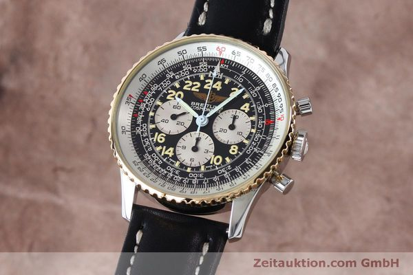 Used luxury watch Breitling Navitimer chronograph steel / gold manual winding Kal. LWO 1873 Ref. B12019  | 152154 04