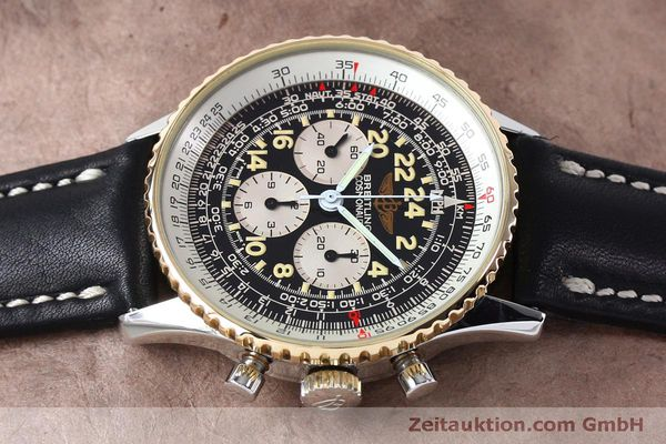 Used luxury watch Breitling Navitimer chronograph steel / gold manual winding Kal. LWO 1873 Ref. B12019  | 152154 05