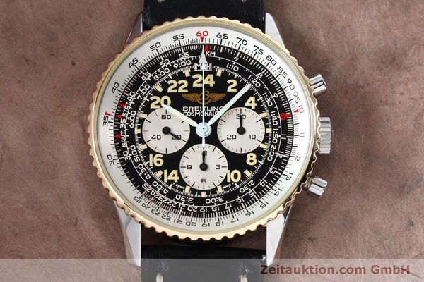 Used luxury watch Breitling Navitimer chronograph steel / gold manual winding Kal. LWO 1873 Ref. B12019  | 152154 13