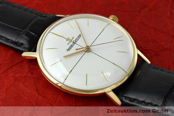 Used luxury watch Jaeger Le Coultre * 18 ct gold manual winding Kal. 800/C Ref. 2285 VINTAGE  | 152157 13