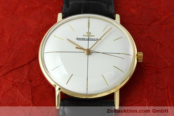 Used luxury watch Jaeger Le Coultre * 18 ct gold manual winding Kal. 800/C Ref. 2285 VINTAGE  | 152157 14