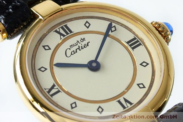 Used luxury watch Cartier Vermeil silver-gilt quartz Kal. 90  | 152161 02