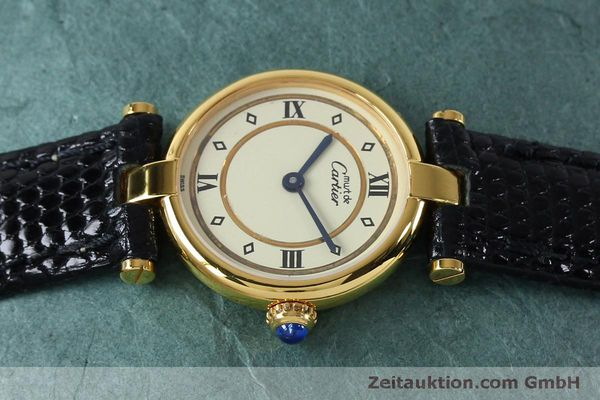 Used luxury watch Cartier Vermeil silver-gilt quartz Kal. 90  | 152161 05