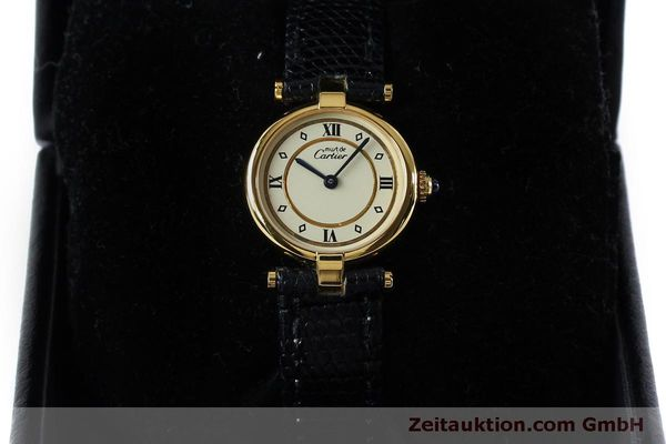 Used luxury watch Cartier Vermeil silver-gilt quartz Kal. 90  | 152161 07