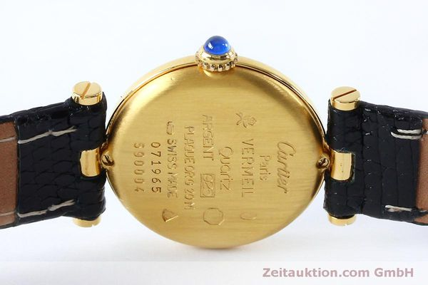 Used luxury watch Cartier Vermeil silver-gilt quartz Kal. 90  | 152161 09