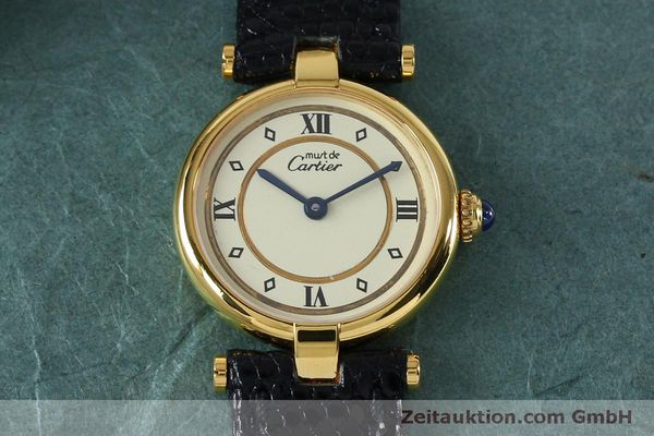 Used luxury watch Cartier Vermeil silver-gilt quartz Kal. 90  | 152161 12