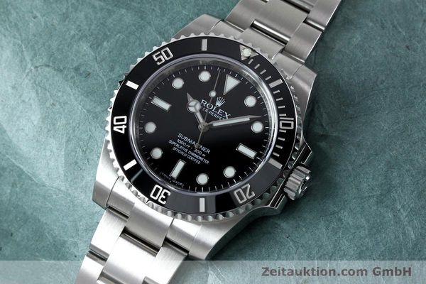 Used luxury watch Rolex Submariner steel automatic Ref. 114060  | 152164 01