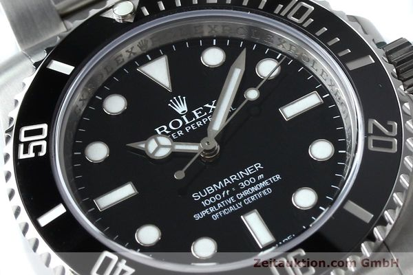 Used luxury watch Rolex Submariner steel automatic Ref. 114060  | 152164 02