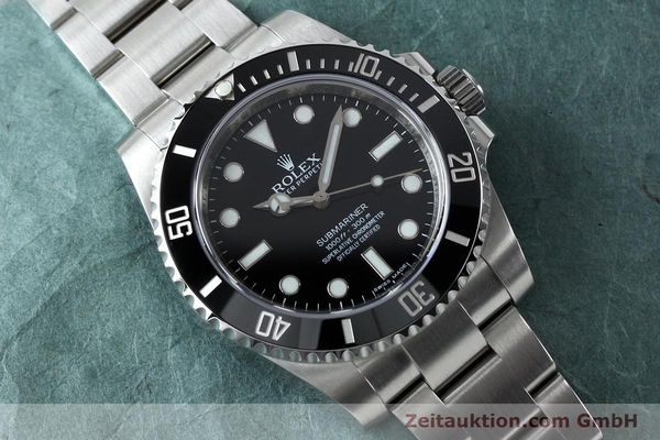Used luxury watch Rolex Submariner steel automatic Ref. 114060  | 152164 14