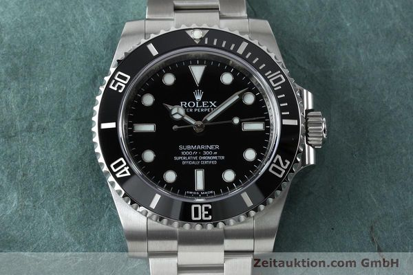Used luxury watch Rolex Submariner steel automatic Ref. 114060  | 152164 15