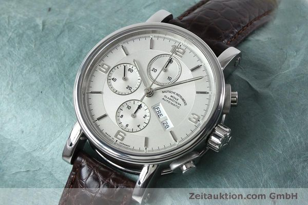 Used luxury watch Mühle Robert Mühle I chronograph steel automatic Kal. ETA 7750 Ref. M1-10-15 LIMITED EDITION | 152165 01