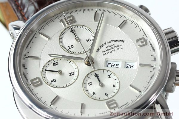 Used luxury watch Mühle Robert Mühle I chronograph steel automatic Kal. ETA 7750 Ref. M1-10-15 LIMITED EDITION | 152165 02