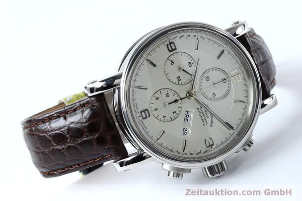 Used luxury watch Mühle Robert Mühle I chronograph steel automatic Kal. ETA 7750 Ref. M1-10-15 LIMITED EDITION | 152165 03