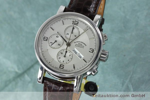 Used luxury watch Mühle Robert Mühle I chronograph steel automatic Kal. ETA 7750 Ref. M1-10-15 LIMITED EDITION | 152165 04