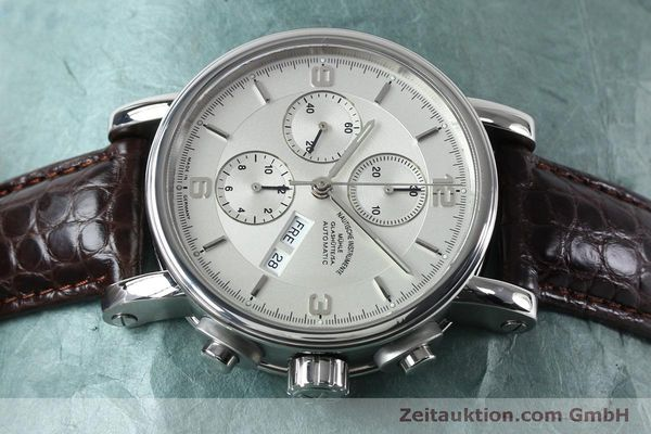 Used luxury watch Mühle Robert Mühle I chronograph steel automatic Kal. ETA 7750 Ref. M1-10-15 LIMITED EDITION | 152165 05