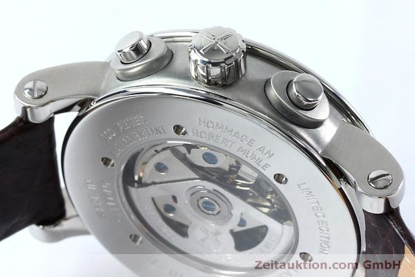 Used luxury watch Mühle Robert Mühle I chronograph steel automatic Kal. ETA 7750 Ref. M1-10-15 LIMITED EDITION | 152165 08