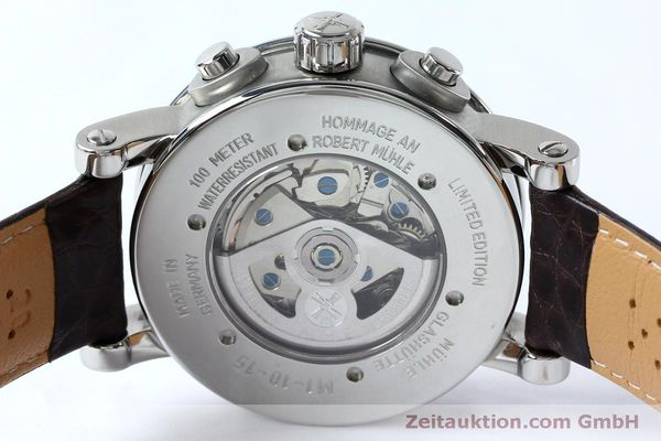 Used luxury watch Mühle Robert Mühle I chronograph steel automatic Kal. ETA 7750 Ref. M1-10-15 LIMITED EDITION | 152165 10