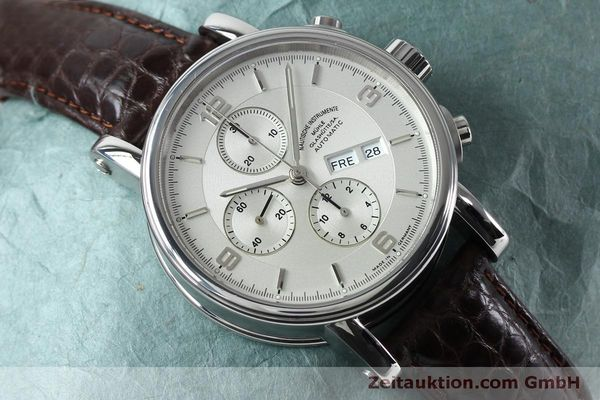 Used luxury watch Mühle Robert Mühle I chronograph steel automatic Kal. ETA 7750 Ref. M1-10-15 LIMITED EDITION | 152165 14