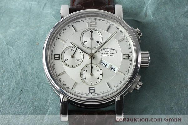 Used luxury watch Mühle Robert Mühle I chronograph steel automatic Kal. ETA 7750 Ref. M1-10-15 LIMITED EDITION | 152165 15