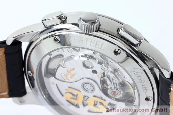 Used luxury watch Glashütte Senator chronograph steel automatic Kal. GUB 39-30  | 152170 08