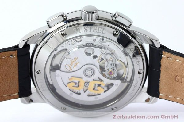 Used luxury watch Glashütte Senator chronograph steel automatic Kal. GUB 39-30  | 152170 10