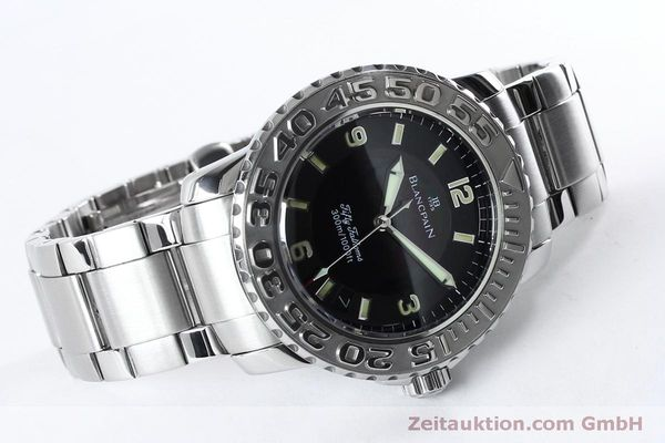 Used luxury watch Blancpain Fifty Fathoms steel automatic Kal. 11.51  | 152175 03