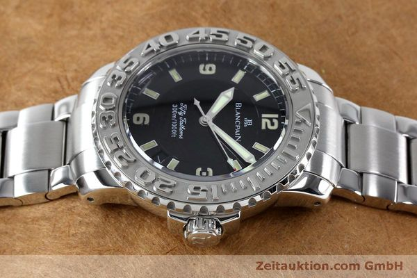 montre de luxe d occasion Blancpain Fifty Fathoms acier automatique Kal. 11.51  | 152175 05