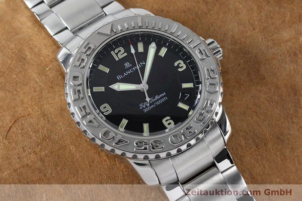 Used luxury watch Blancpain Fifty Fathoms steel automatic Kal. 11.51  | 152175 16