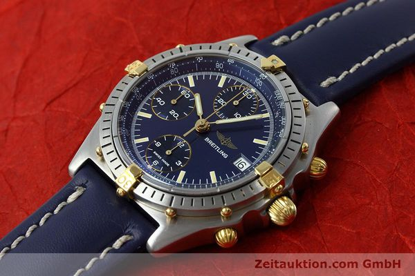 Used luxury watch Breitling Chronomat chronograph steel / gold automatic Kal. VAL 7750 Ref. 81950  | 152177 01