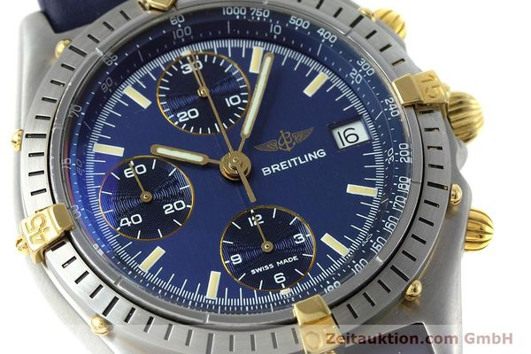Used luxury watch Breitling Chronomat chronograph steel / gold automatic Kal. VAL 7750 Ref. 81950  | 152177 02