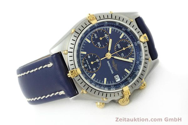 Used luxury watch Breitling Chronomat chronograph steel / gold automatic Kal. VAL 7750 Ref. 81950  | 152177 03