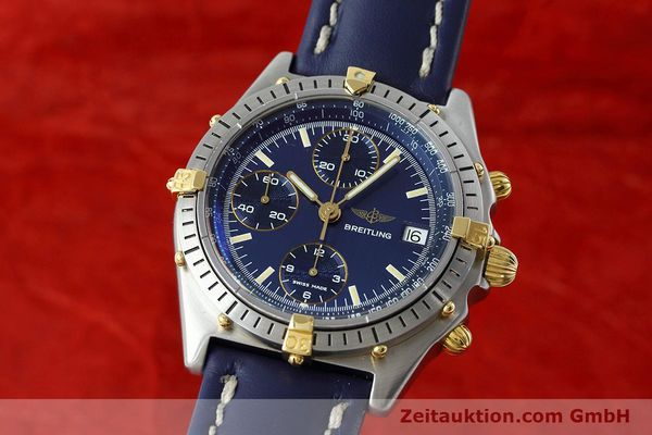 Used luxury watch Breitling Chronomat chronograph steel / gold automatic Kal. VAL 7750 Ref. 81950  | 152177 04