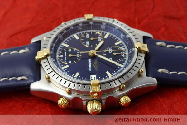 Used luxury watch Breitling Chronomat chronograph steel / gold automatic Kal. VAL 7750 Ref. 81950  | 152177 05