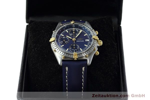 Used luxury watch Breitling Chronomat chronograph steel / gold automatic Kal. VAL 7750 Ref. 81950  | 152177 07