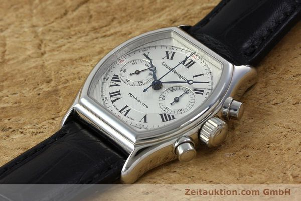 Used luxury watch Girard Perregaux Richeville chronograph steel manual winding Kal. LWO 1872 Ref. 2710  | 152191 01