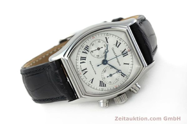 Used luxury watch Girard Perregaux Richeville chronograph steel manual winding Kal. LWO 1872 Ref. 2710  | 152191 03