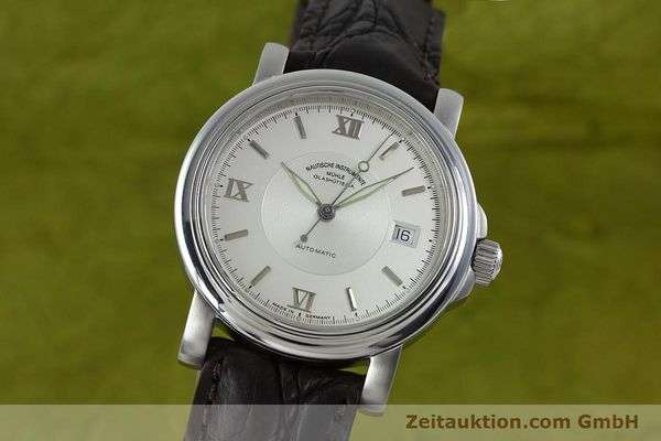 Used luxury watch Mühle Mercurius steel automatic Kal. ETA 2824-2 Ref. M1-24-20  | 152194 04
