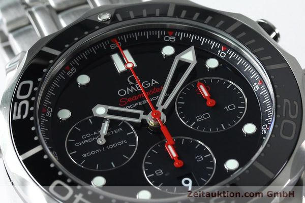 Used luxury watch Omega Seamaster chronograph steel automatic Kal. 3330 Ref. 21230445001001  | 152195 02