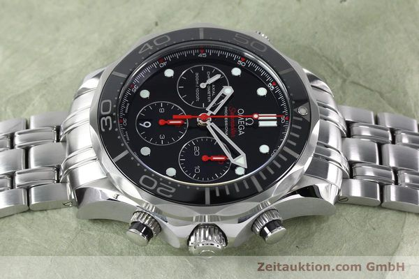 Used luxury watch Omega Seamaster chronograph steel automatic Kal. 3330 Ref. 21230445001001  | 152195 05