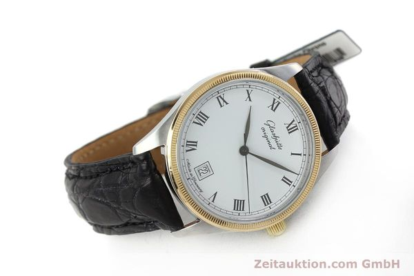 Used luxury watch Glashütte Senator steel / gold manual winding Kal. GUB 12-50  | 152203 03