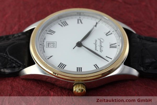 Used luxury watch Glashütte Senator steel / gold manual winding Kal. GUB 12-50  | 152203 05
