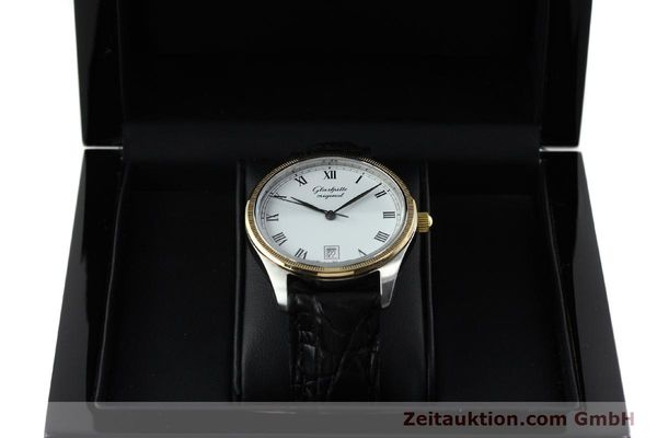 Used luxury watch Glashütte Senator steel / gold manual winding Kal. GUB 12-50  | 152203 07