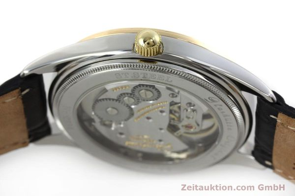 Used luxury watch Glashütte Senator steel / gold manual winding Kal. GUB 12-50  | 152203 08